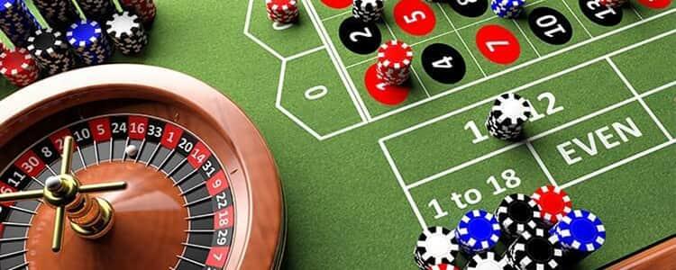 mesa de apuestas de la ruleta online de casino
