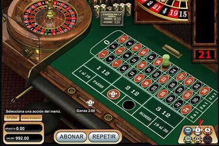 apuestas en la ruleta online electronica