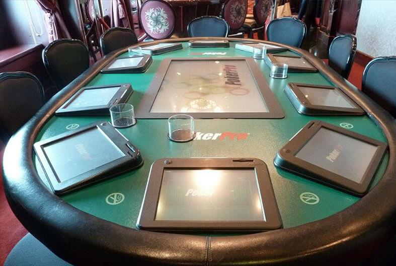 mesa de poker de casino online con apuestas de dinero real