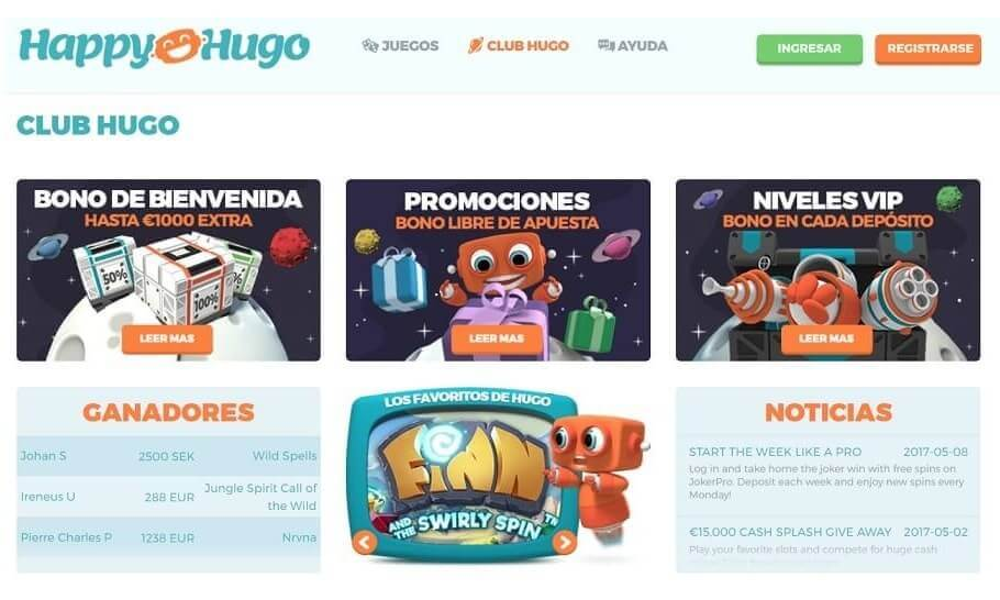 happy hugo promociones