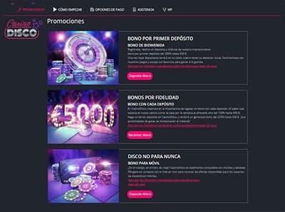 casino disco promociones