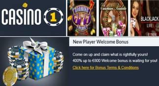 800 euros de bono de bienvenida Casino 1
