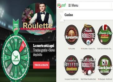 Por registro obtenga 10 euros y 35 giros gratis Casino Paf