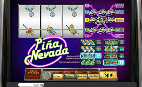 Piña Nevada tragamonedas
