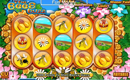 The Bees Buzz tragamonedas