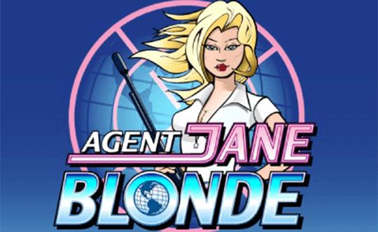 Agent Jane Blonde tragamonedas