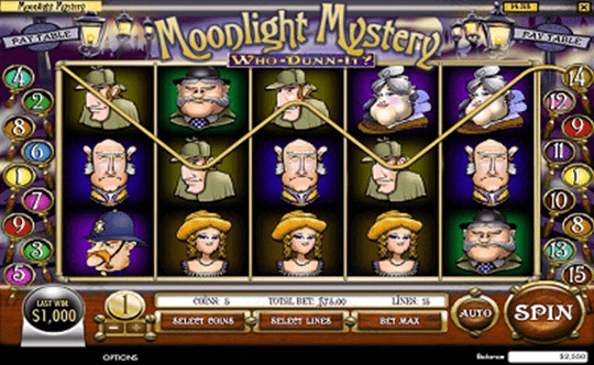 Moonlight Mystery tragamonedas