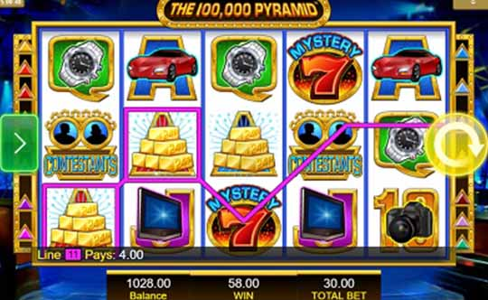 100,000 Pyramid tragamonedas