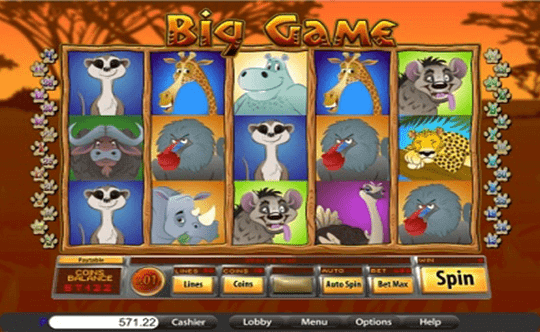 Big Game tragamonedas