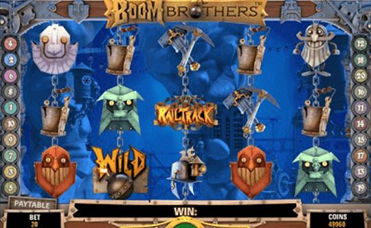Boom Brothers tragamonedas