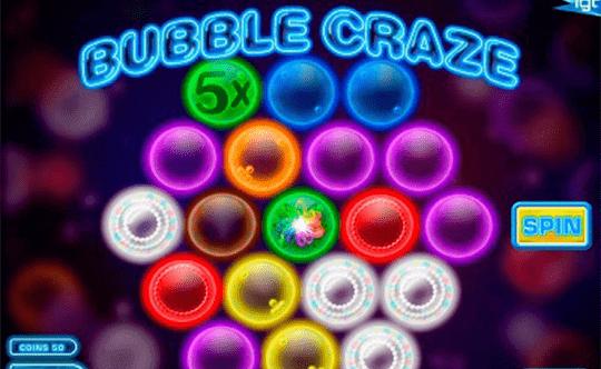 Bubble Craze tragamonedas