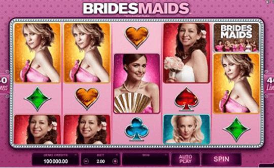 tragaperras Bridesmaid