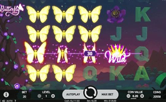 tragaperras Butterfly Staxx