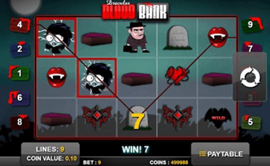 tragaperras Draculas Blood Bank