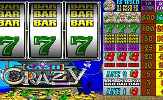Cash Crazy tragamonedas