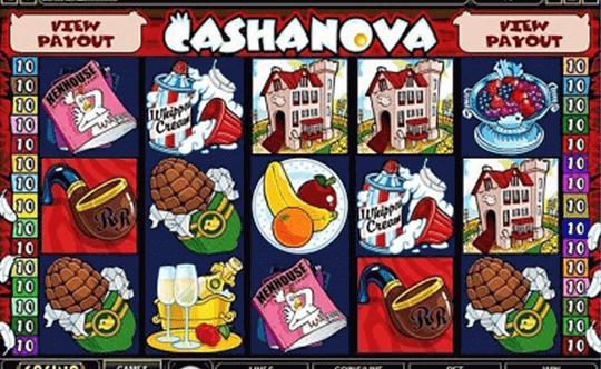 Cashanova tragamonedas
