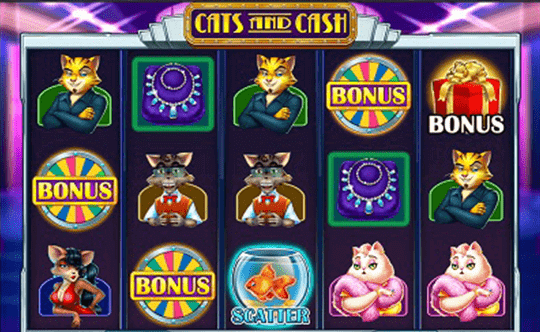 Cats and Cash tragamonedas