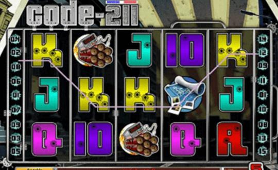 Code 211 tragamonedas