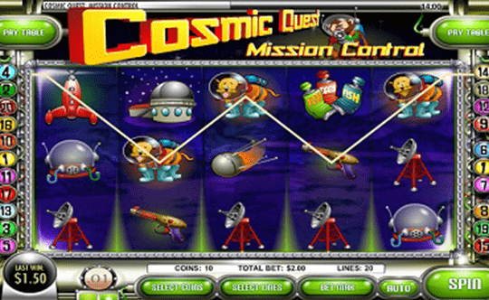 Cosmic Quest I tragamonedas