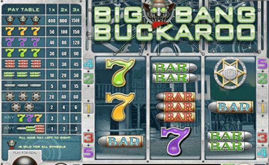 tragaperras Big Bang Buckaroo