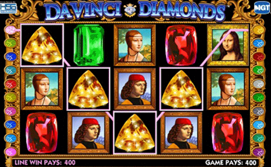 Da Vinci Diamonds tragamonedas