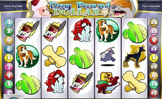 tragaperras Dog Pound