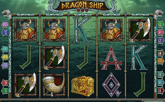 tragaperras Dragon Ship