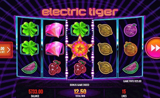 tragaperras Electric Tiger