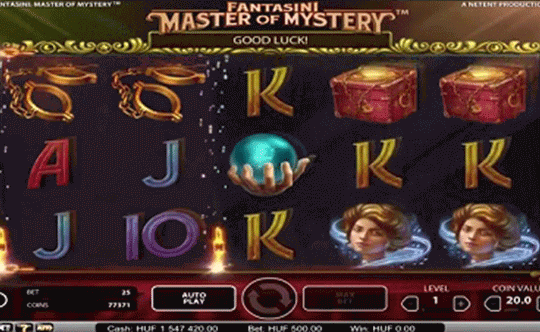 Fantasini: Master of Mystery tragamonedas