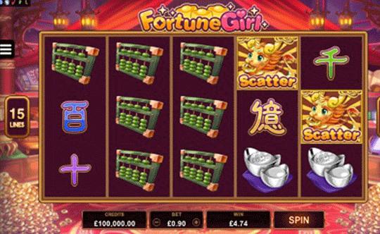 Fortune Girl tragamonedas