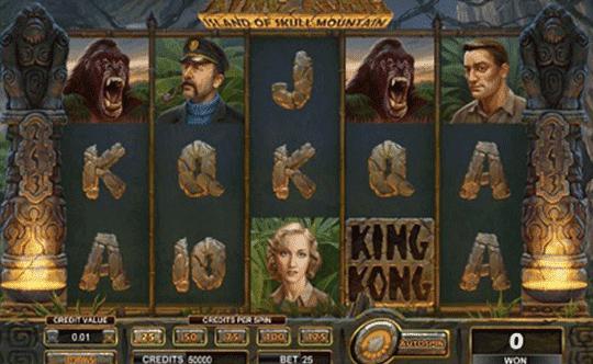 King Kong Island of Skull Mountain tragamonedas