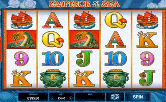 tragaperras Emperor of the Sea