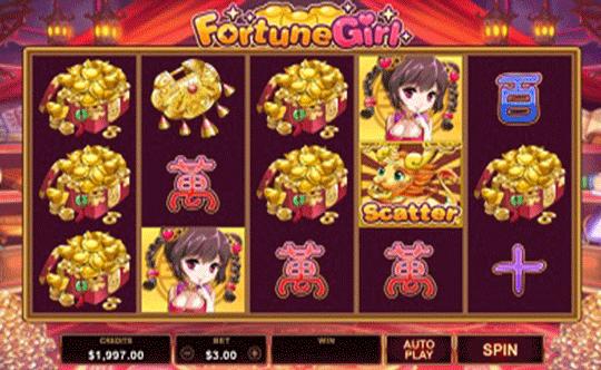 tragaperras Fortune Girl