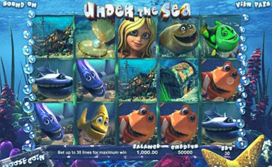 Under the Sea tragamonedas