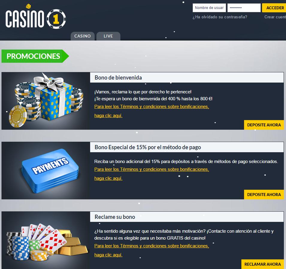 Promociones Casino1