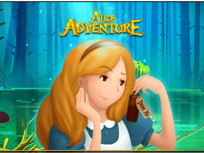 Tragaperras Alice Adventure iframe