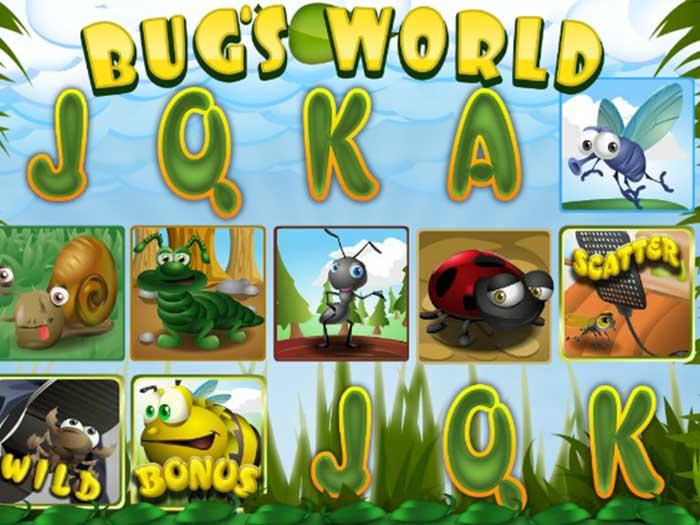 Tragaperras Bug's World iframe