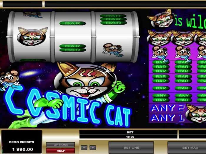 Tragaperras Cosmic Cat iframe