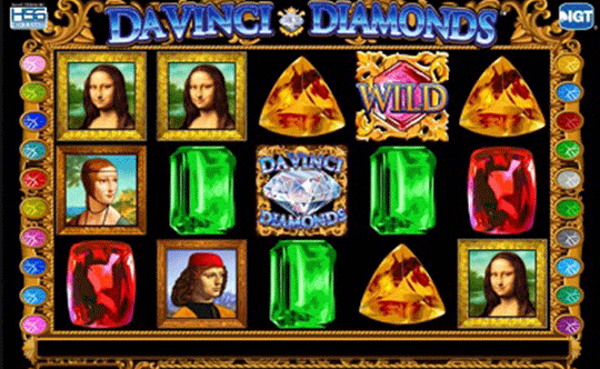 Tragaperras Da Vinci Diamonds iframe