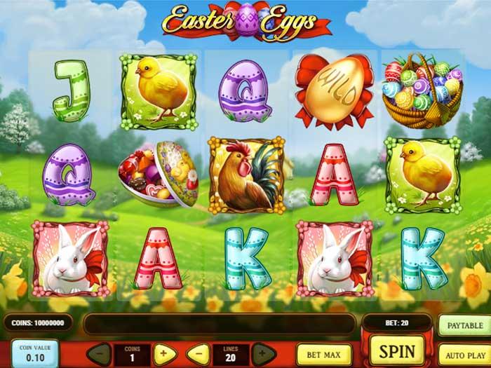 Tragaperras Easter Eggs iframe