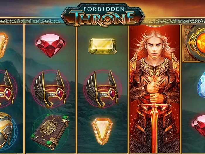 Tragaperras Forbidden Throne iframe