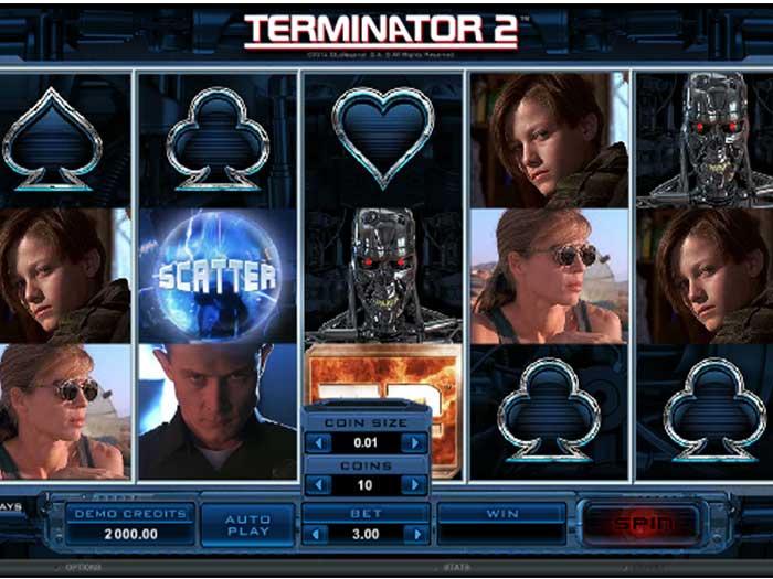 Tragaperras Terminator 2 iframe