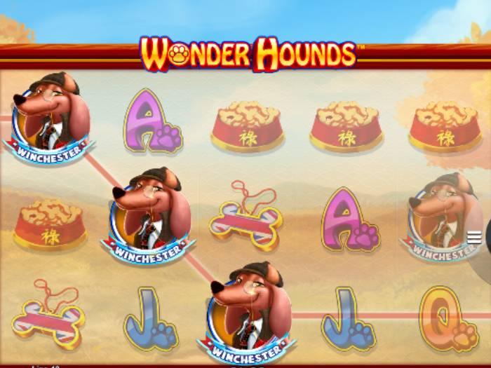 Tragaperras Wonder Hounds iframe