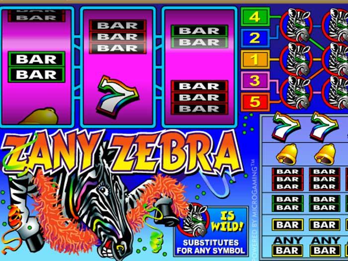 Tragaperras Zany Zebra iframe