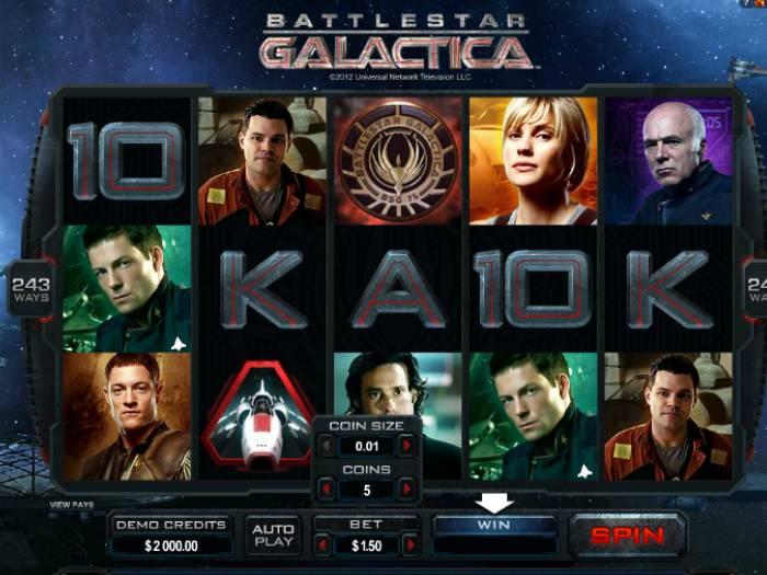 NTragaperras Battlestar Galactica iframe