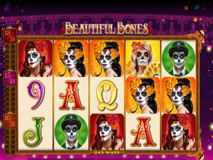 Tragaperras Beautiful Bones iframe