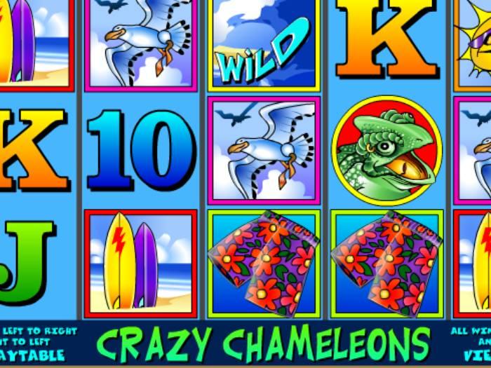 Tragaperras Crazy Chameleons iframe