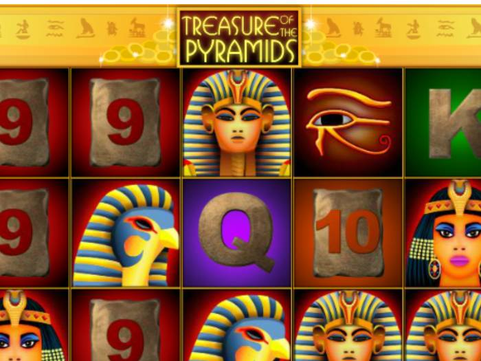 Tragaperras Treasure of the Pyramids iframe