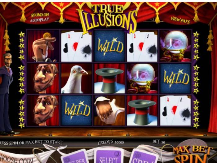Tragaperras True Illusions iframe